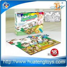 2015 Wholesale Kids play education graffiti puzzle, painting jigsa puzzle toys H162202