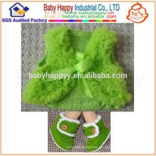 Nueva ropa de invierno recién nacido del bebé de Polyster de la suposición del estilo