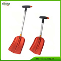 Aluminum Car Snow Shovel with Telescopic Handle