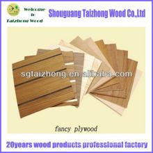 Folheado natural Folha de madeira compensada