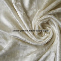 Tissu 100% de velours de polyester pour le sofa / tapisserie d'ameublement
