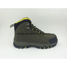 Nubuck Leather Casual Style Outdoor Shoes with Toe Protection Safety Shoes (16054)