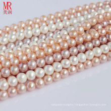 8-9mm Cultured Freshwater Pearl Strands, Round