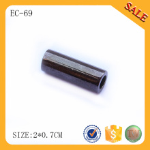 EC69 Gun metal cord end clip and stopper for handbags rope