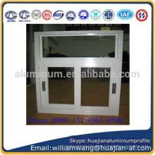 Profilé en aluminium de haute qualité et de prix le plus bas pour les fenêtres coulissantes