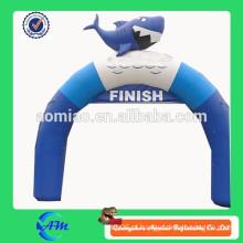 Publicidade para os produtos de arco inflável