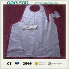 Einweg-wasserdicht und staubdicht Kunststoff Schürze (OS5013)