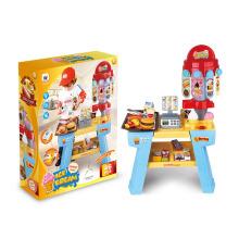 Imitar los juguetes de juguetes de alimentos conjunto con la luz (h0844049)