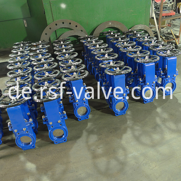 Ductile Iron Knife Gate Valve 2