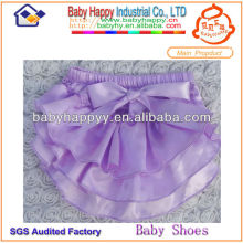 Vente en gros Cool Bow Lovely Satin Cheap baby bloomers