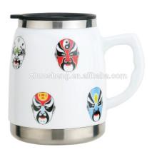 500ML Ceramic and Stainless Steel Mug