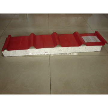 Mesin Roll Forming Atap Dinding Panel Sandwich