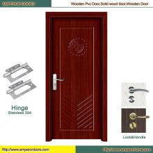 Puerta de madera puerta de PVC barato puerta de madera principal de PVC