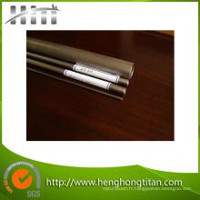 Tube de titane sans couture de haute qualité du prix concurrentiel ASTM B338 / tuyau pour l'échangeur de chaleur