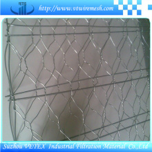 Clôture en fil d'acier inoxydable Gabion Net