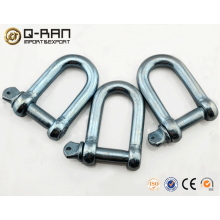 Galvanized European type d shackle drop forged