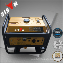 BISON China Taizhou 5KW Electric Gasoline Generator 5000dx with Air Cooling