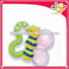 New Plastic Hand Bell,Cute Cartoon Bee Design Hand Bell Toys For Baby