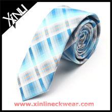 Professioneller OEM Design Skinny Krawatte Krawatte Seide