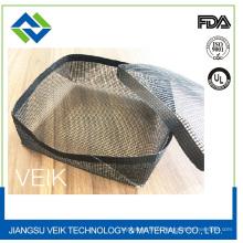 Gril antiadhésif noir en fibre de verre de téflon de fibre de verre antiadhésive gril avec diverses tailles
