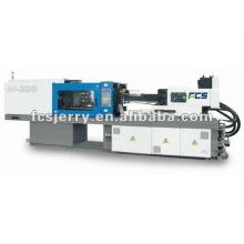 Machine de moulage par injection hybride à grande vitesse / fermeture, petite injection plastique