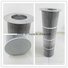 Fabricação de cartucho de filtro de ar antiestático