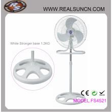 18 pouces 2 en 1 ventilateur industriel couleur blanc complet