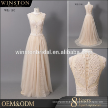 Fashion professional best champagne mother of the bride lace dresses