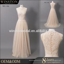 Мода профессиональный лучшее шампанское мать невесты кружевные платья
