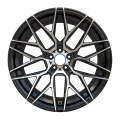 Aftermarket Custom Toyota Rim 18x9 Black Machined Face