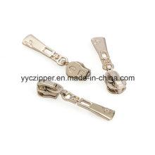 5 # a / L deslizador de cremallera de metal con extractor de proceso para las damas