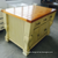 Long lift time China quality solid wood kitchen table