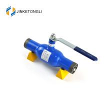 JKTL2W035 fixed extebded butt weldded handle 304ss ball valve in the medium temperature