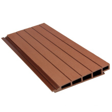 Recyclable Material Eco Friendly WPC Wood Plastic Composite Outdoor Panel Boards Anti UV Exterior Outdoor Wall Panel Board