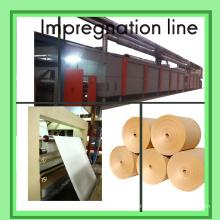 Ligne d'imprégnation pour papier mélamine / Ligne d'imprégnation 4 FEET / Machine de revêtement de papier décoratif