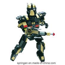 Robô Infantryman desenhador da série Transformer 200PCS bloqueia brinquedos