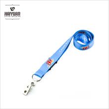 Heat Transfer Printed Custom Lanyards No Minimum Order with Logo with Simple Bulldog Clip