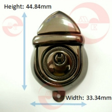 Hong Kong QC China Factory Little Bellied Push Lock