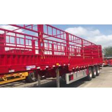 Sugar Cane Harvest Stake Fence Cargo Semi Trailer