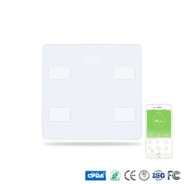 Báscula de baño Bluetooth Smart Body Fat Scale