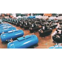 Compresor de aire del motor diesel de 200 litros 5.5hp