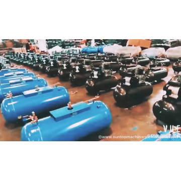 100 litres 2065 fonte compresseur d'air pompe 4kw moteur à essence