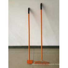 Conjunto de herramientas de jardín-Incluya el rastrillo de proa 14T y la azada forjada - Herramientas de jardinería para mujeres-LIQUIDACIÓN VENTA