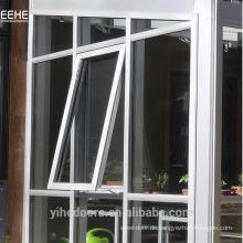 Nach außen öffnendes Flügelfenster aus Aluminium für Vorhangfassade