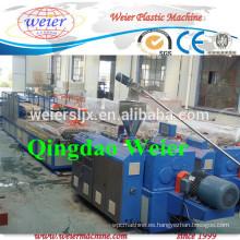 Perfil de pvc WPC fabricación de línea de la máquina extrusora