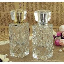 Garrafa de perfume cristalina de alta qualidade para favores do presente e decoração CP-007