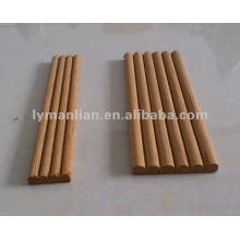 moulures rondes en bois de teck