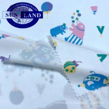 100% poliéster tejido de malla de ajuste en seco de sublimación de tinte blanco