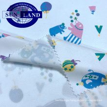 100% polyester knitting white dye sublimation dry fit mesh fabric