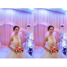 Горячая Распродажа 3D цветок бисером Свадебные свадебное платье